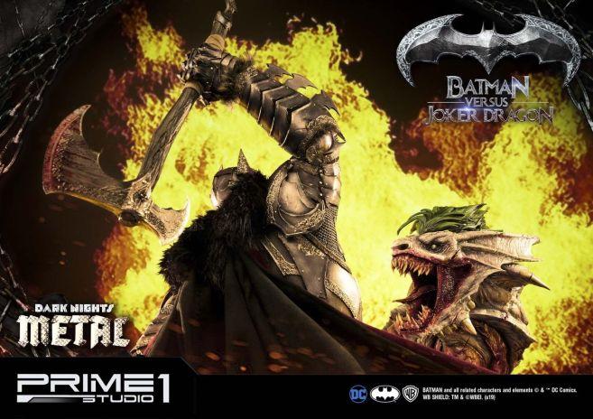 Prime 1 Studio - Batman - Dark Knights Metal - Batman vs Joker Dragon - 67