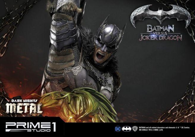 Prime 1 Studio - Batman - Dark Knights Metal - Batman vs Joker Dragon - 76