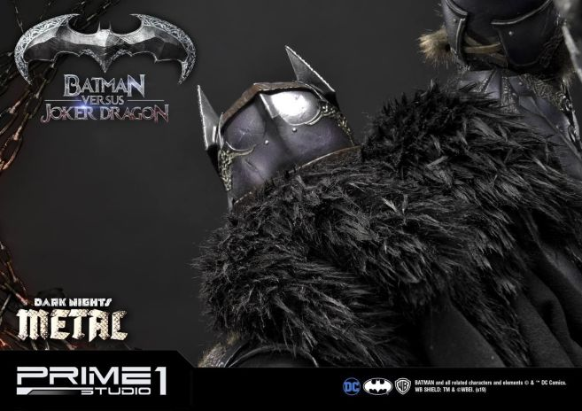 Prime 1 Studio - Batman - Dark Knights Metal - Batman vs Joker Dragon - 82