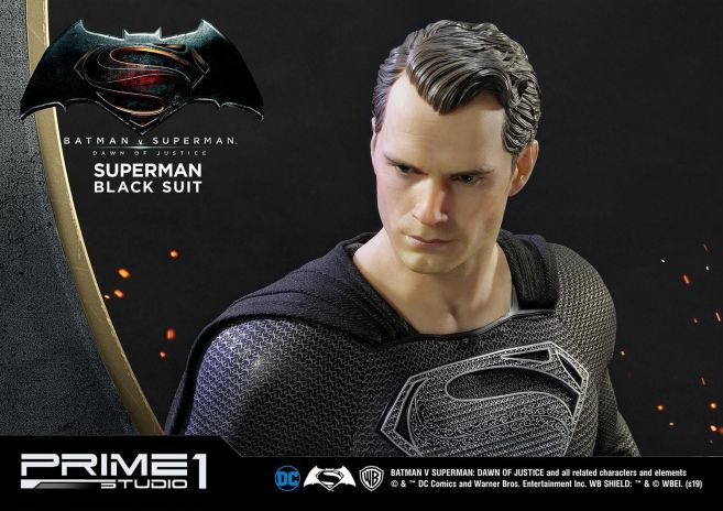 Prime 1 Studio - Superman - Black Suit Superman - 15