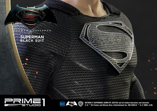 Prime 1 Studio - Superman - Black Suit Superman - 16