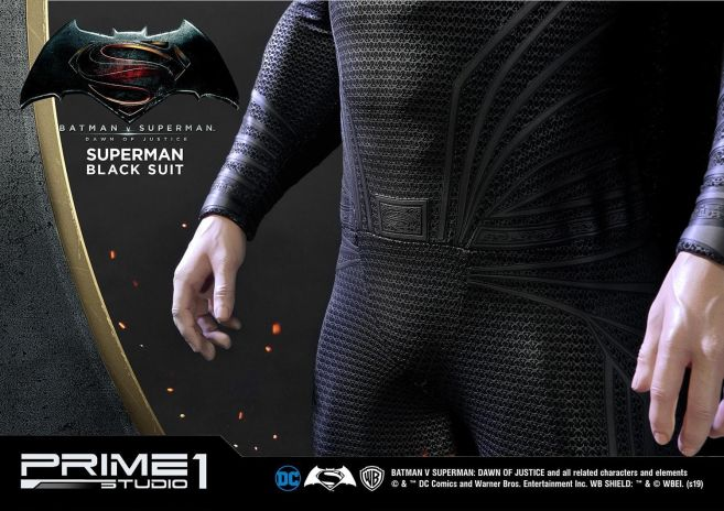 Prime 1 Studio - Superman - Black Suit Superman - 18