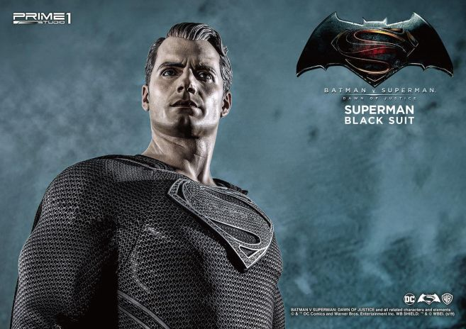 Prime 1 Studio - Superman - Black Suit Superman - 22
