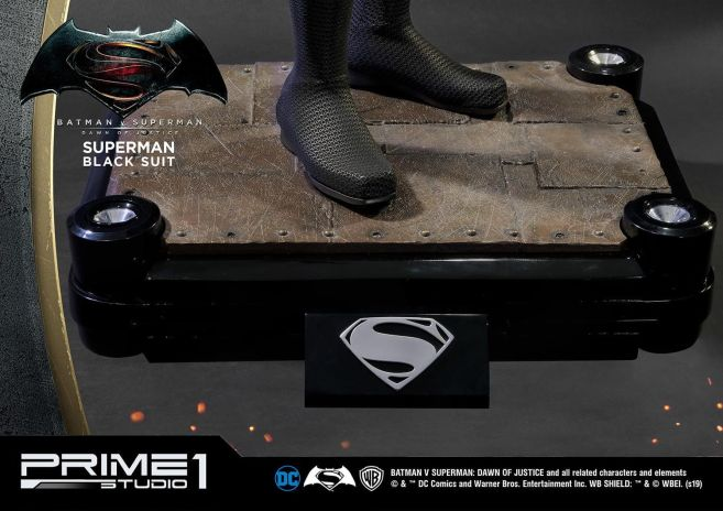 Prime 1 Studio - Superman - Black Suit Superman - 26