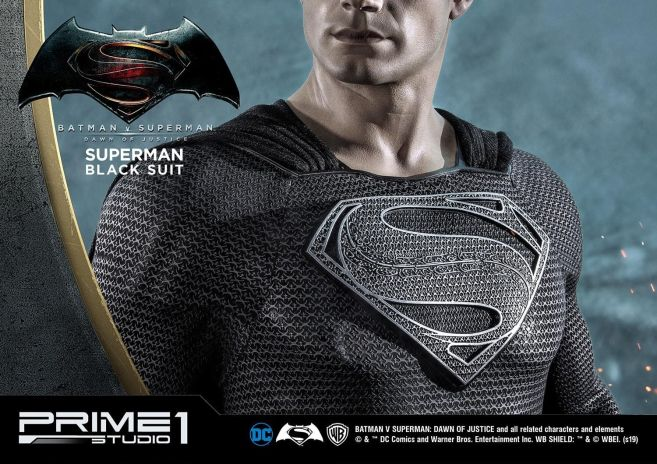Prime 1 Studio - Superman - Black Suit Superman - 31