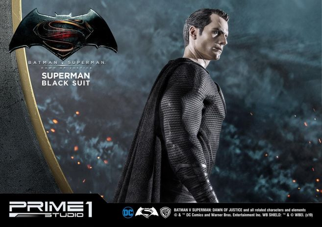 Prime 1 Studio - Superman - Black Suit Superman - 32