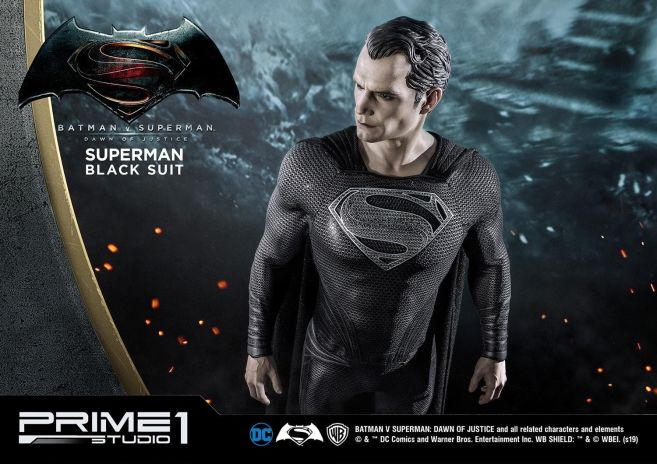 Prime 1 Studio - Superman - Black Suit Superman - 33