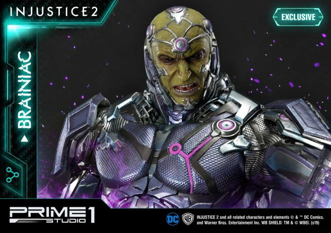Prime 1 Studio - Injustice 2 - Brainiac - 14