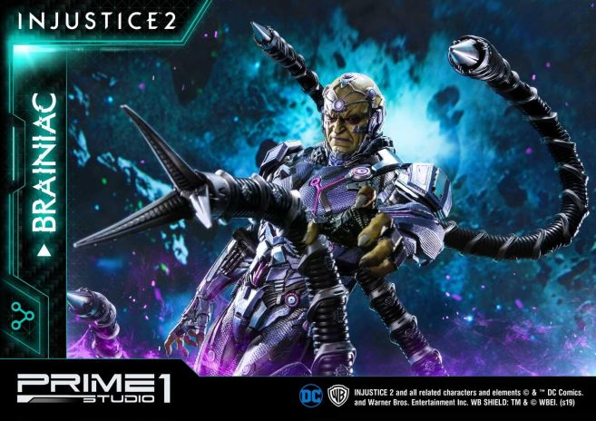 Prime 1 Studio - Injustice 2 - Brainiac - 30