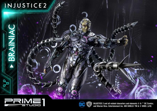 Prime 1 Studio - Injustice 2 - Brainiac - 37