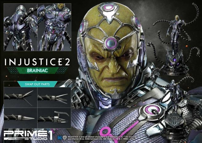 Prime 1 Studio - Injustice 2 - Brainiac - 58