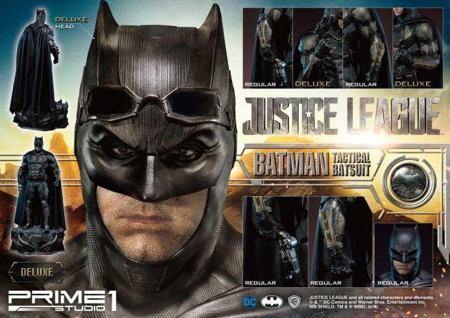 Prime 1 Studio - Justice League - Batman Tactical Batsuit - 09