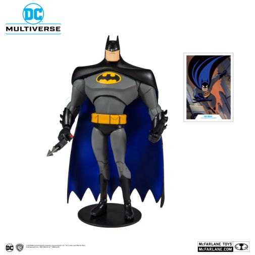 McFarlane Toys - DC Multiverse - Batman - Batman the Animated Series - Batman Action Figure - 01