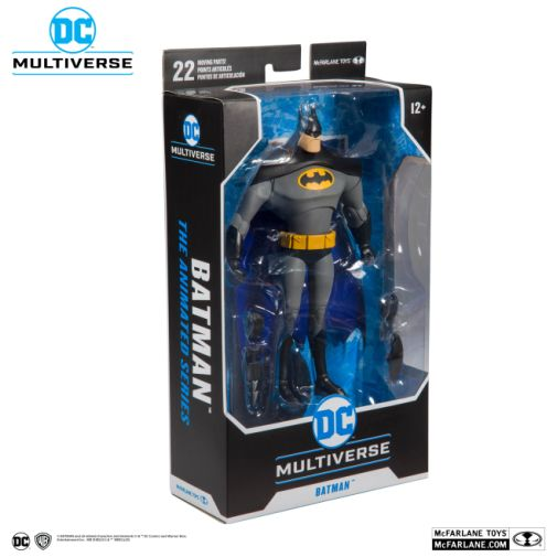 McFarlane Toys - DC Multiverse - Batman - Batman the Animated Series - Batman Action Figure - 07
