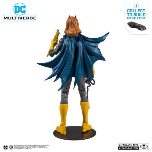 McFarlane Toys - DC Multiverse - Batmobile Build-a-Figure - Batgirl Action Figure - 03