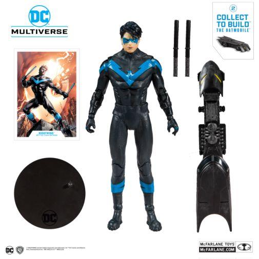 McFarlane Toys - DC Multiverse - Batmobile Build-a-Figure - Nightwing Action Figure - 05