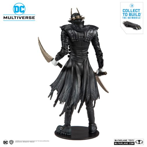 McFarlane Toys - DC Multiverse - Batmobile Build-a-Figure - The Batman Who Laughs Action Figure - 03