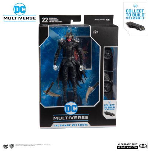 McFarlane Toys - DC Multiverse - Batmobile Build-a-Figure - The Batman Who Laughs Action Figure - 06