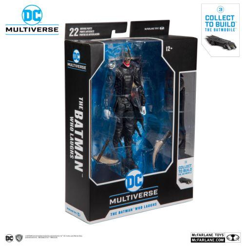 McFarlane Toys - DC Multiverse - Batmobile Build-a-Figure - The Batman Who Laughs Action Figure - 07