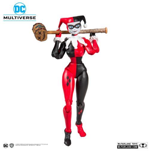 McFarlane Toys - DC Multiverse - Harley Quinn - Batman the Animated Series - Harley Quinn Action Figure - 08