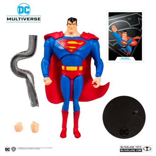 McFarlane Toys - DC Multiverse - Superman - Superman the Animated Series - Superman Action Figure - 05