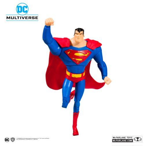 McFarlane Toys - DC Multiverse - Superman - Superman the Animated Series - Superman Action Figure - 06