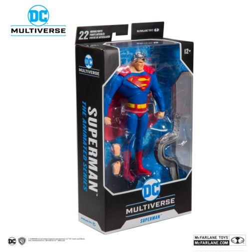 McFarlane Toys - DC Multiverse - Superman - Superman the Animated Series - Superman Action Figure - 08