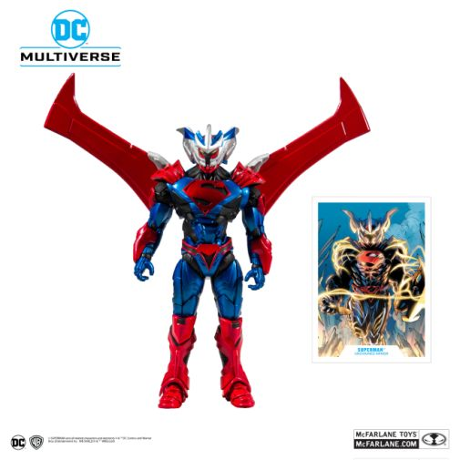 McFarlane Toys - DC Multiverse - Superman - Unchained Armor Action Figure - 01