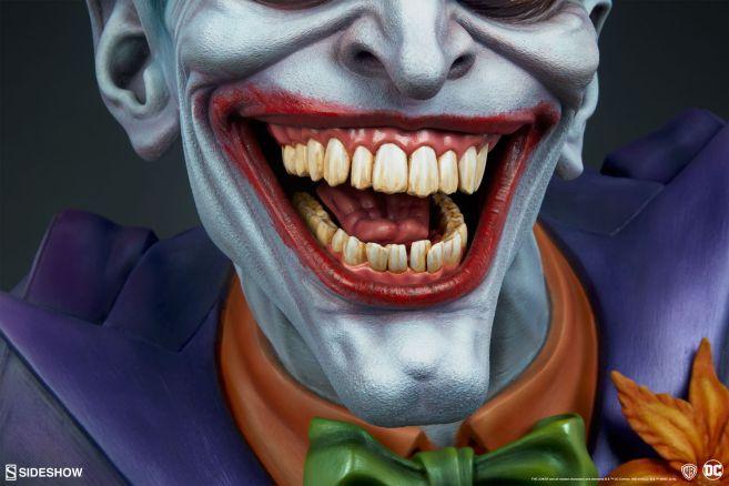 Sideshow - DC - Joker Life Size Bust - 16