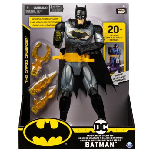 Spin Master - DC - 12-inch - Deluxe Batman Action Figure - 02