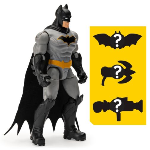 Spin Master - DC - Batman Rebirth Batman 4-Inch Action Figure - 02