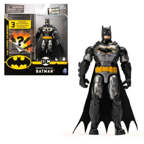 Spin Master - DC - Batman Tactical Suit 4-Inch Action Figure - 02