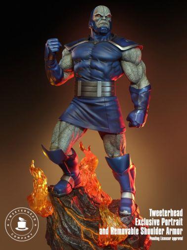 Tweeterhead - Darkseid Statue - 07