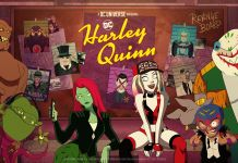 Harley Quinn - Season 2 Key Art - Green Band Horizontal - 01