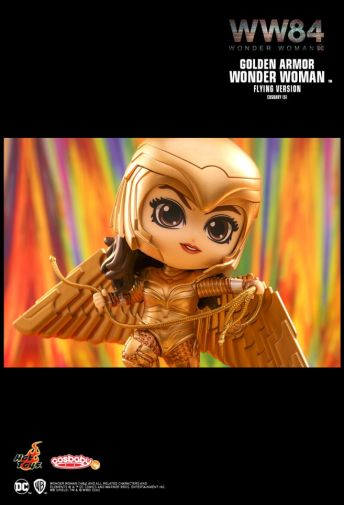 Hot Toys - Wonder Woman 1984 - Cosbaby - Golden Armor Flying - 02