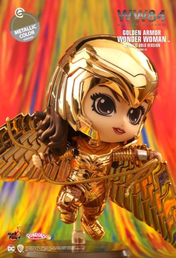 Hot Toys - Wonder Woman 1984 - Cosbaby - Golden Armor Metallic - 02