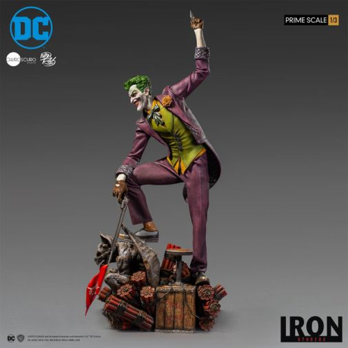 Iron Studios - The Joker - 1-3 Scale - 11