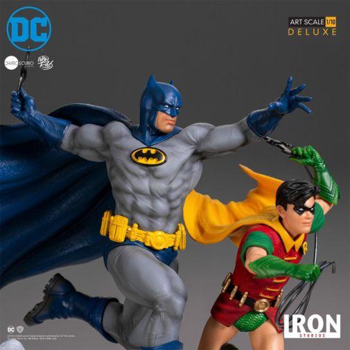 Iron Studios - Batman - Batman and Robin Diorama - 10