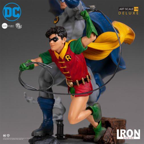 Iron Studios - Batman - Batman and Robin Diorama - 11