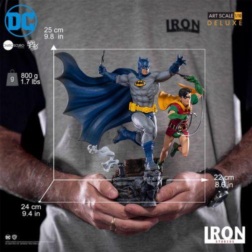 Iron Studios - Batman - Batman and Robin Diorama - 16