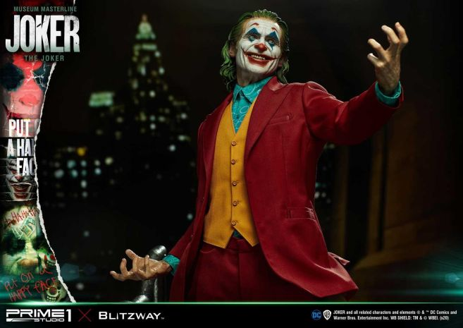 Prime 1 Studio - Joaquin Phoenix - Joker - 89
