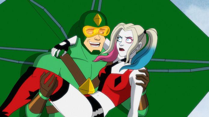 Harley Quinn and Kite Man