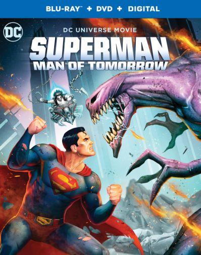 Superman - Man of Tomorrow - Blu-ray - Cover - 01