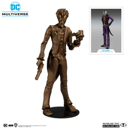 McFarlane Toys - Platinum Edition - Arkham Asylum Joker Bronze Edition - 01