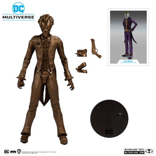 McFarlane Toys - Platinum Edition - Arkham Asylum Joker Bronze Edition - 07