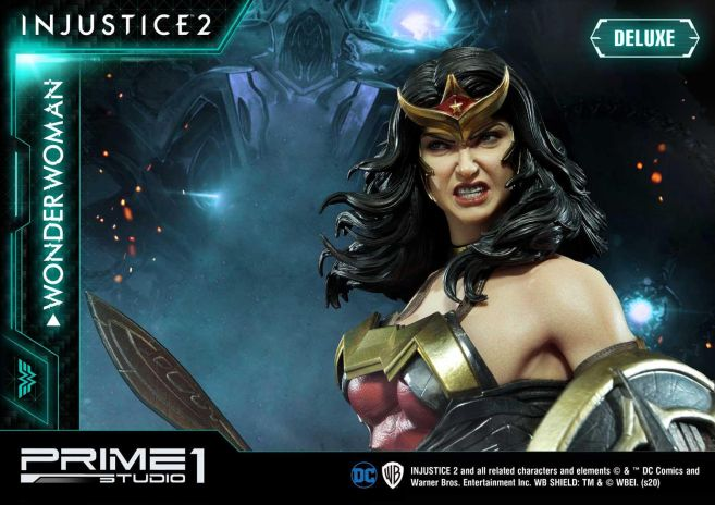 Prime 1 Studio - Injustice 2 - Wonder Woman - Deluxe - 03