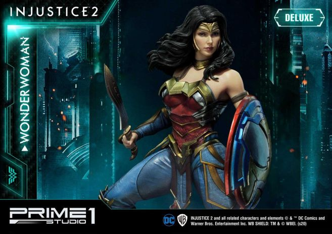 Prime 1 Studio - Injustice 2 - Wonder Woman - Deluxe - 04