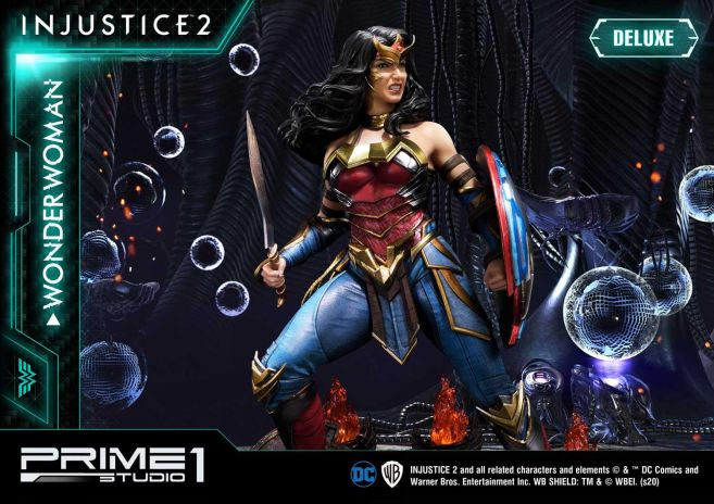 Prime 1 Studio - Injustice 2 - Wonder Woman - Deluxe - 09
