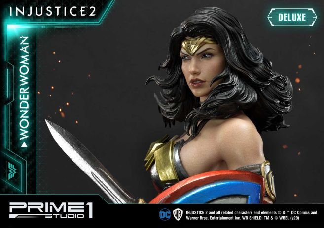 Prime 1 Studio - Injustice 2 - Wonder Woman - Deluxe - 24