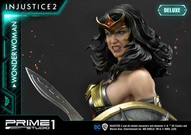 Prime 1 Studio - Injustice 2 - Wonder Woman - Deluxe - 25